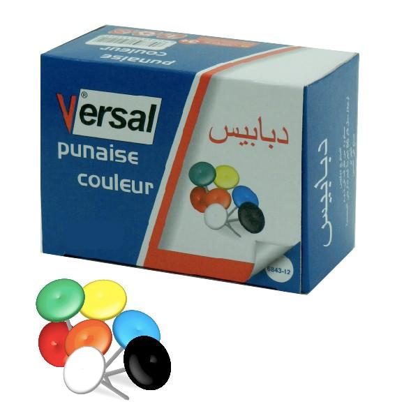 Punaise Couleur VERSAL Réf-6843-12
