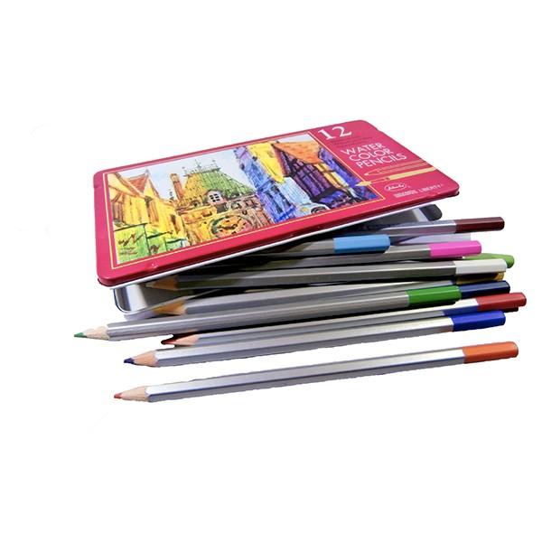 Crayons de couleur aquarelle