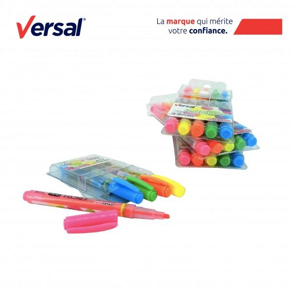 Surligneurs couleurs VERSAL Réf.118000