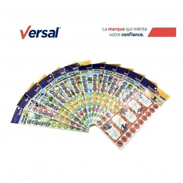 Étiquette Écolier Autocollante VERSAL Réf.111009