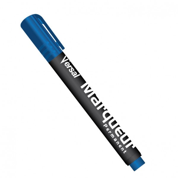 Marqueur Permanente Bleu VERSAL